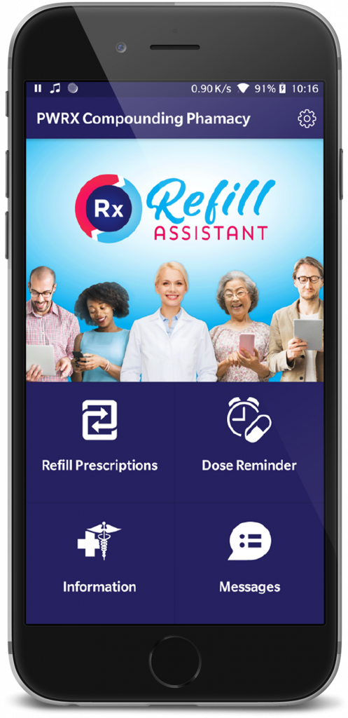 refill assistant Phone MockUp