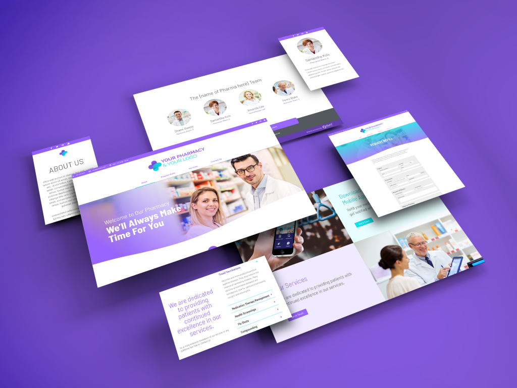 pharmacy websites displaying demo 2