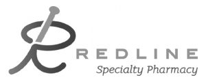 red line pharmacy Logo