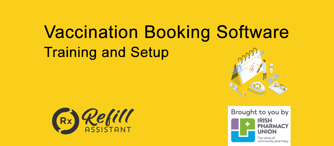 Vaccination booking software training blog