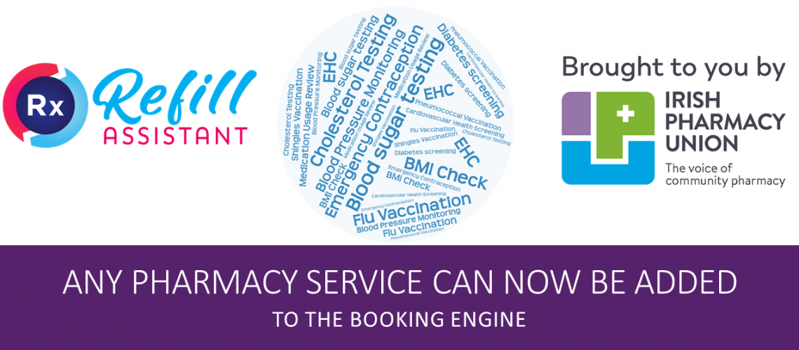 pharmacy services booking engine